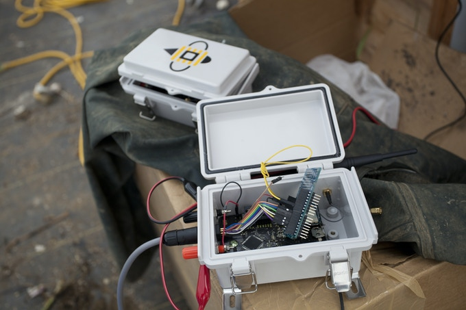 Rugged enclosure that still give easy access