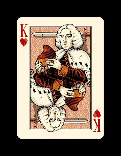 King of Hearts. Lodovico Manin, the last Doge of Venice.