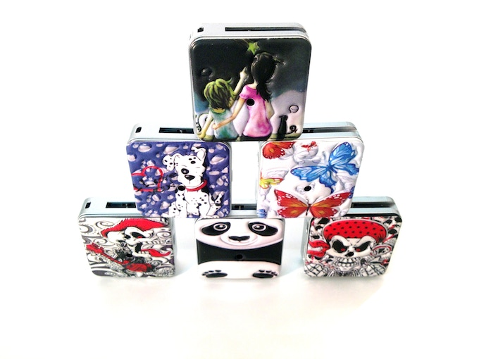 ParaShoot cameras with custom skins