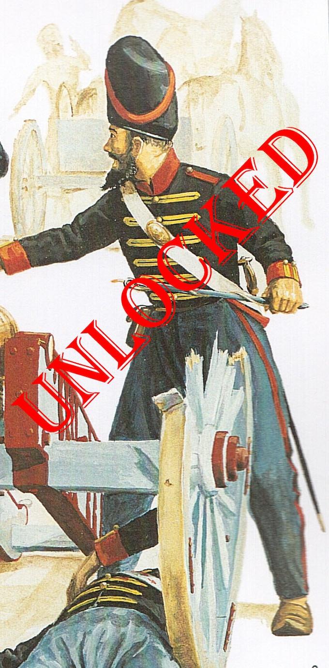 "Sikh ""Jinsi"" Artillery by M Perry. Copyright Osprey Publishing Ltd"