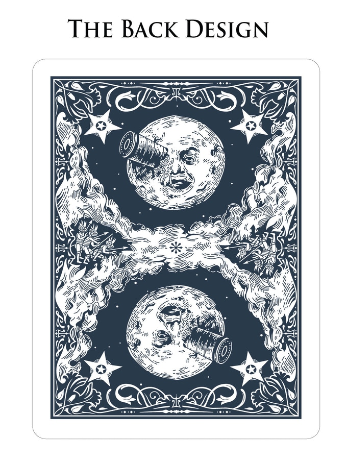 Kickstarter: Inspired By Silent Film A Trip to the Moon, The Méliés Playing Card Project Launches