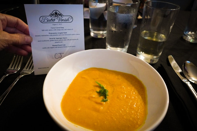 Curried Carrot Soup from our Supper Club