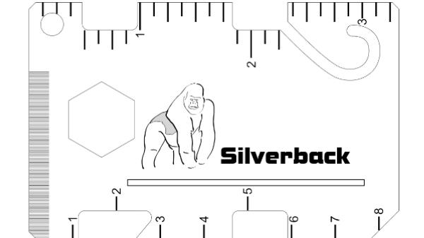 The Silverback: 12+ Function Multi Tool & Minimal Wallet