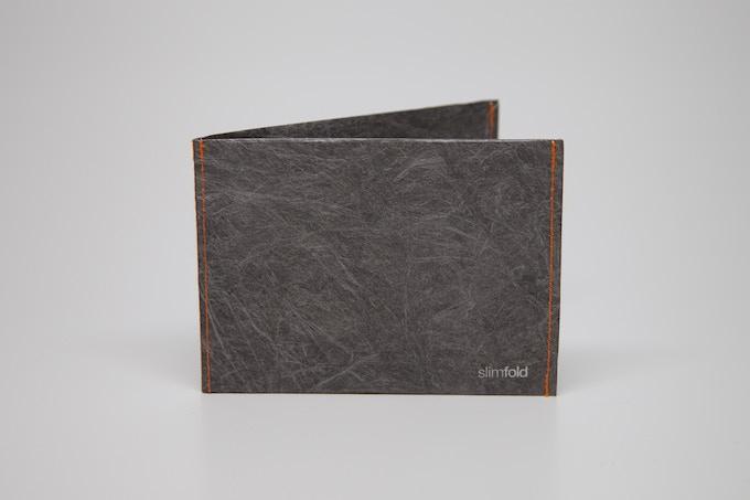 Gray w/Orange Stitching