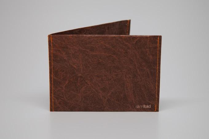 Brown w/Orange Stitching