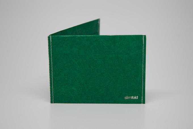 Green w/White Stitching