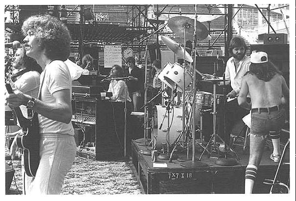 Mose Jones at Champagne Jam, GA Tech Stadium - 1978