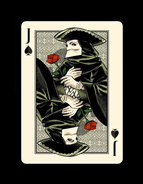 "Jack of Spades - the ""Bauta"""