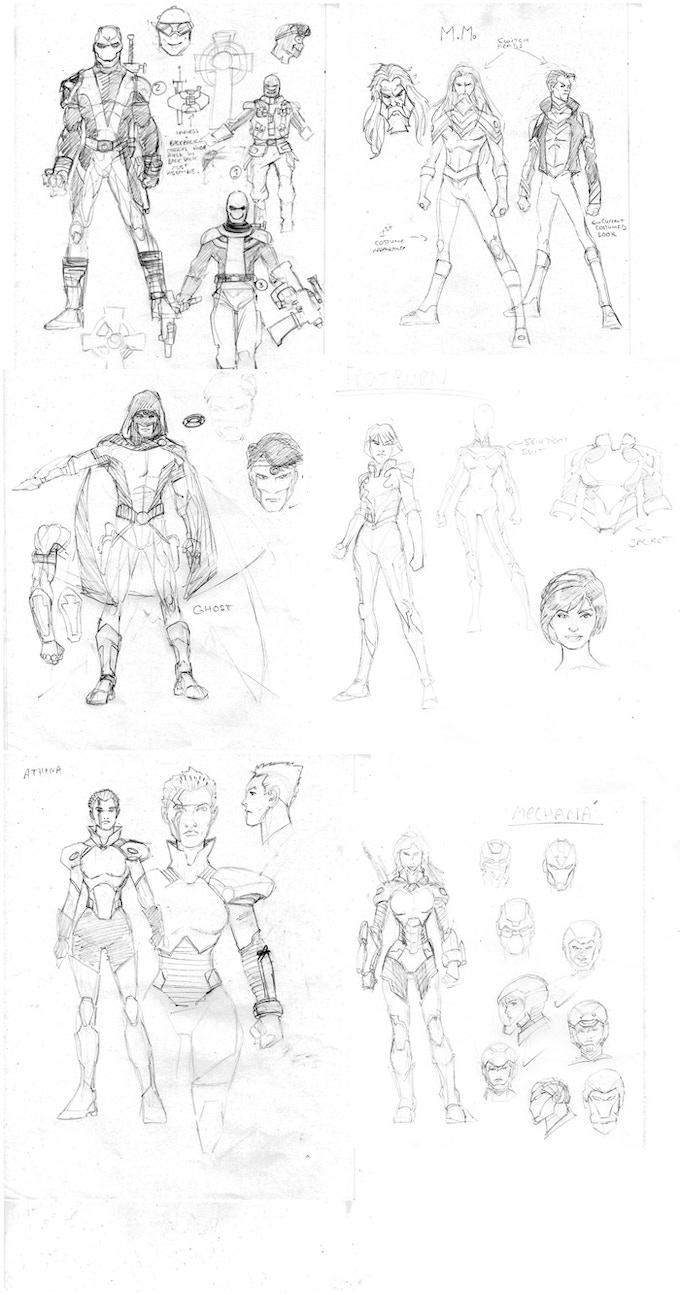Project: Overwatch by Con Artist Entertainment —Kickstarter