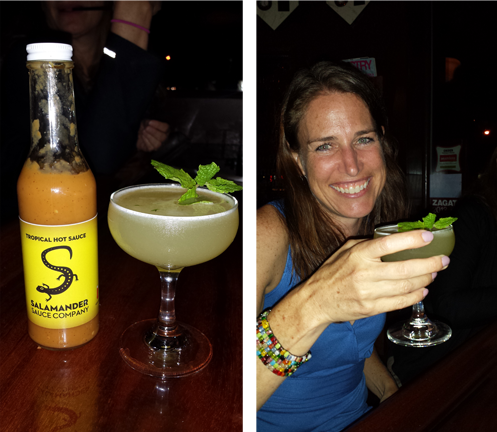 Hot Sauce, it's not just for food anymore, introducing the Salamander Gimlet!