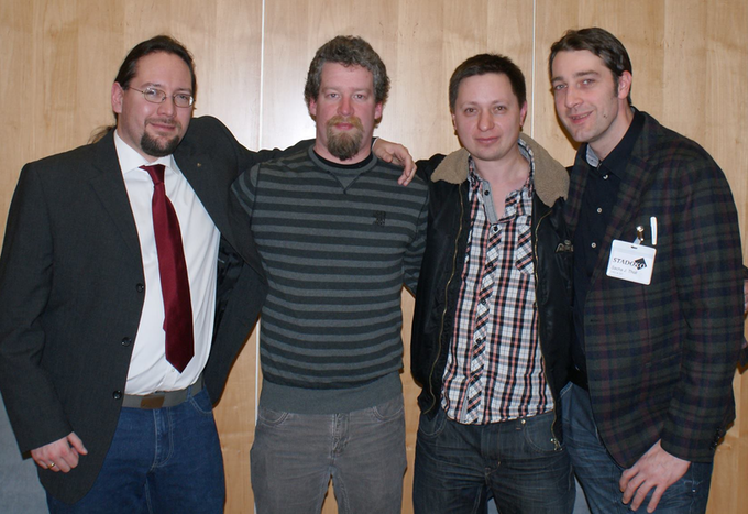 Bastian Döen, Matthias Stahnke, Paul Kocyla, Sacha Tholl