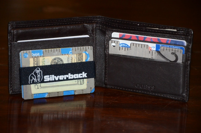 The Silverback fits in every wallet!