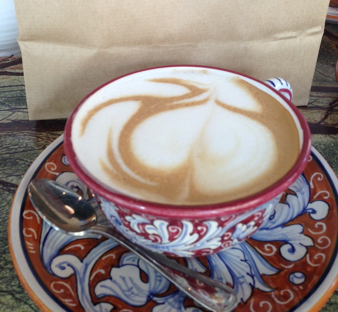 Fancy a nice cappuccino!