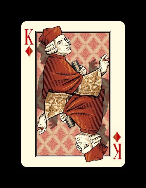 King of Diamonds - a Cardinal