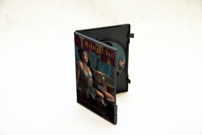 Mock-up of DVD cover