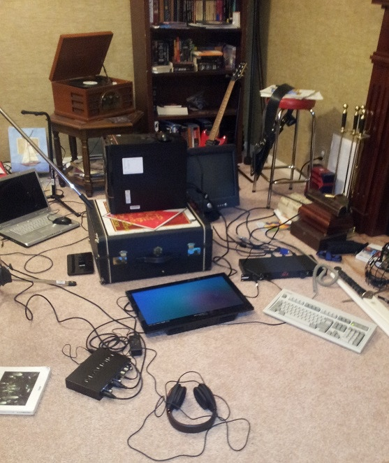 This recording rig looks pretty legit, right?