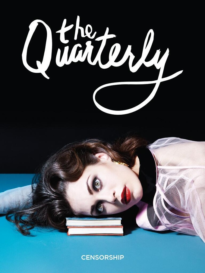The cover from issue one of The Quarterly