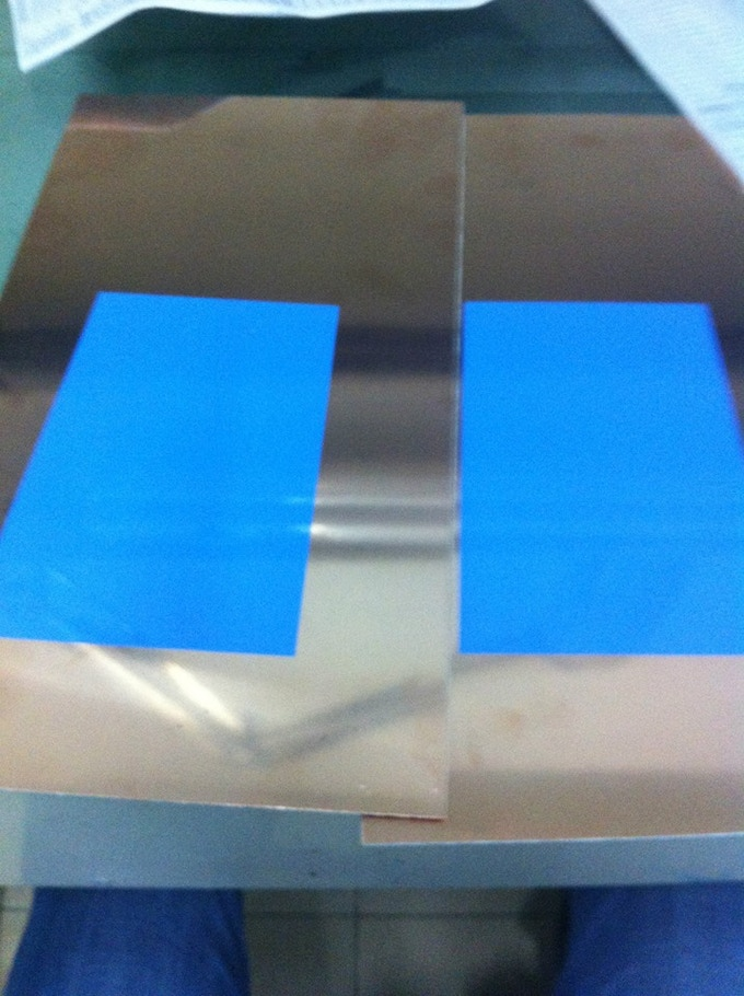 Example of solder screen colour tested by our PCB manufacturing house