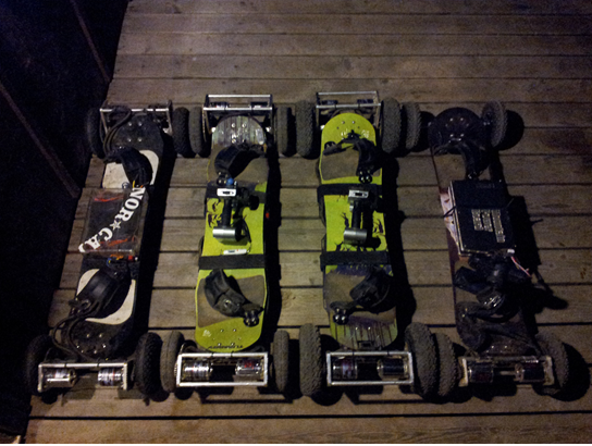 4 of the original prototypes