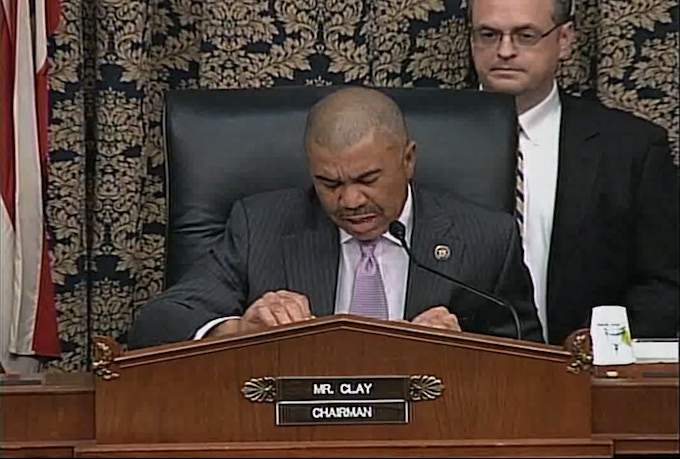 One of the Oversight subcommittee hearings about the National Archives that I planned and managed.