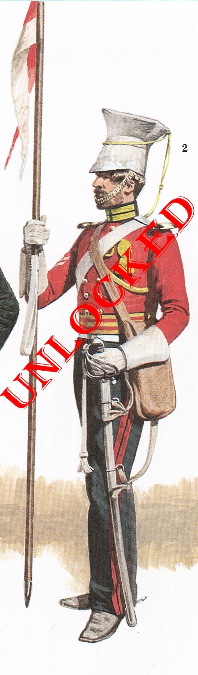 British Lancer by P Turner. Copyright Osprey Publishing Ltd