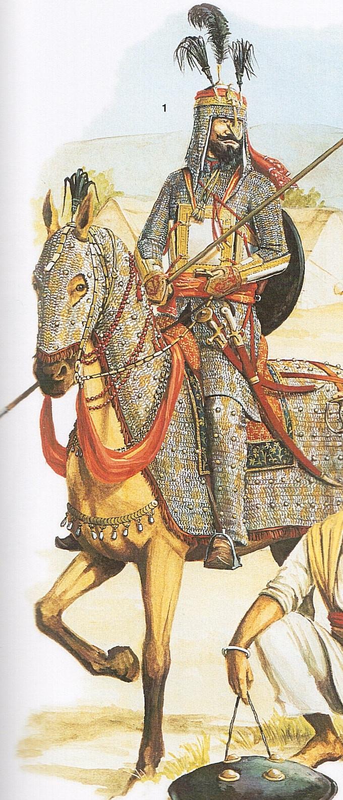 Sikh Ghorchurra by M. Perry. Copyright Osprey Publishing Ltd