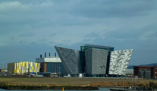 Our little office is behind this lot - Yep THIS IS BELFAST !