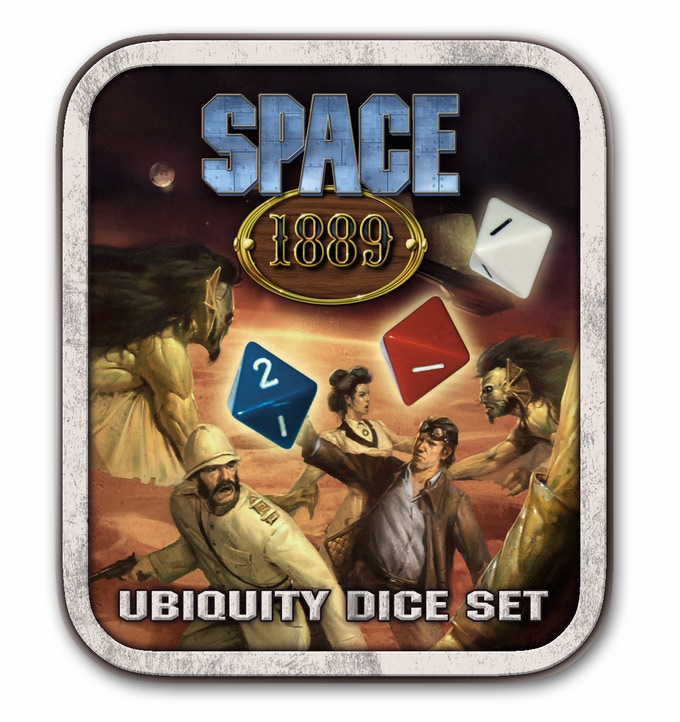 Space: 1889 Ubiquity Dice Set
