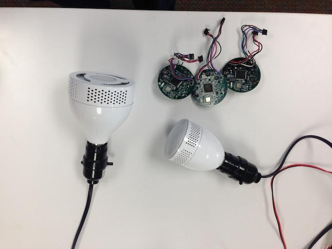 ilumi prototypes with control boards