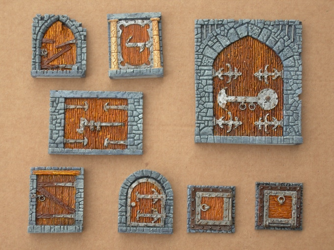 Painted Resin set - supplied unpainted!