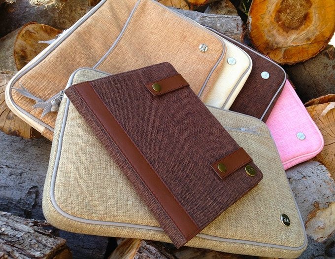 "15"" Macbook Sleeves and Our iPad Case"