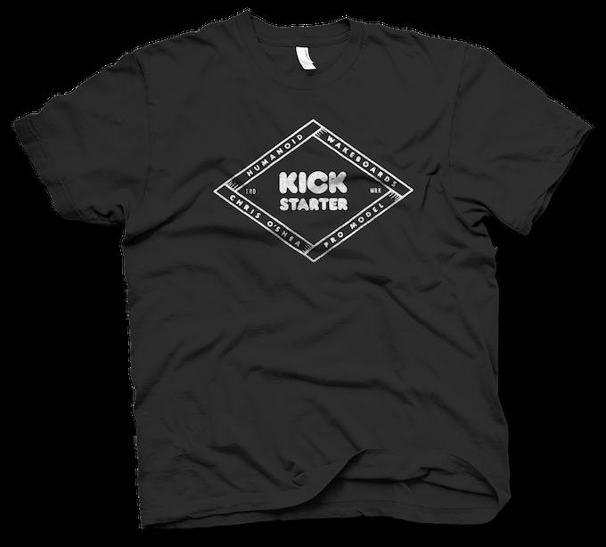 ^ Kickstarter x O'Shea Wakeboard Project Supporter Tee Shirt