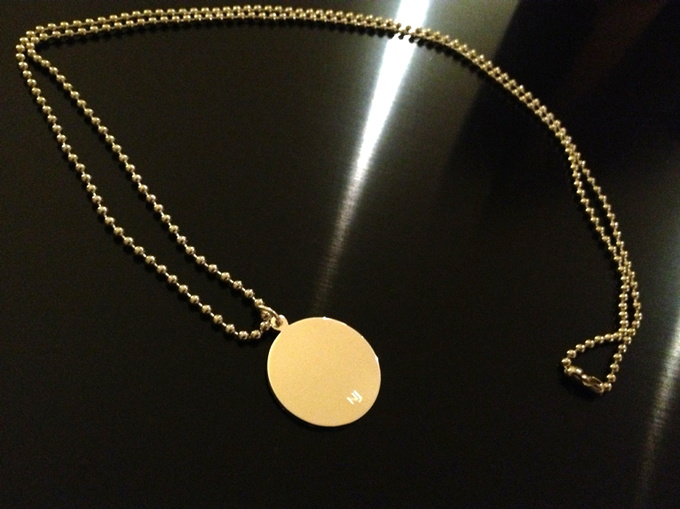 #nanojemspiproject sterling silver pendant with chain