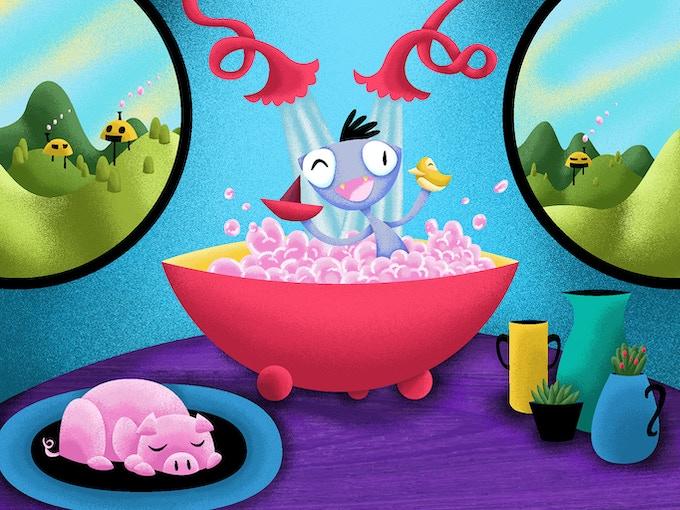 Bubble Monster!