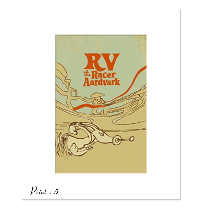 Print 5 : RV Toulouse-Lautrec Parody - artist L.M. Ruttkay