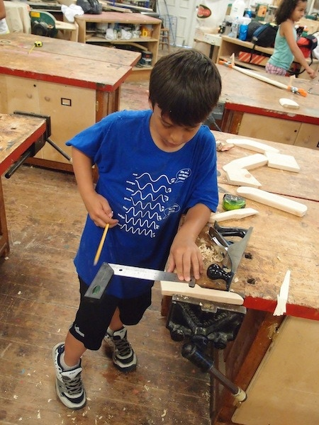 Turning Around Boston Mobile Woodworking Classes For Kids By The Eliot School Of Fine Applied Arts Kickstarter