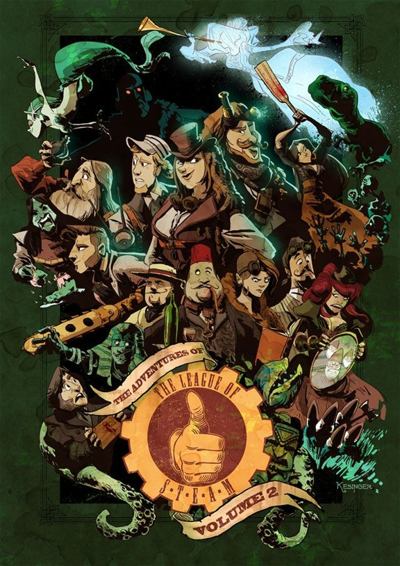 Adventures Of The League Of S T E A M Season Three By