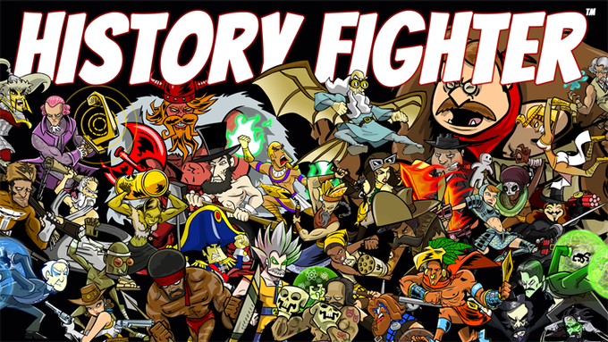 Almost the complete cast of History Fighter: Season 01