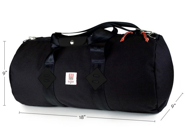 Limited Edition - Topo Designs for OLIVERS Duffle w/inside pockets