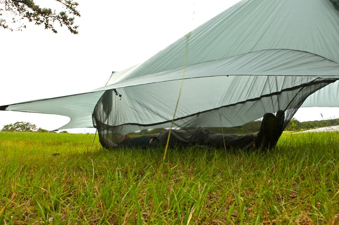 Nub 233 The Perfected Hammock Shelter By Sierra Madre