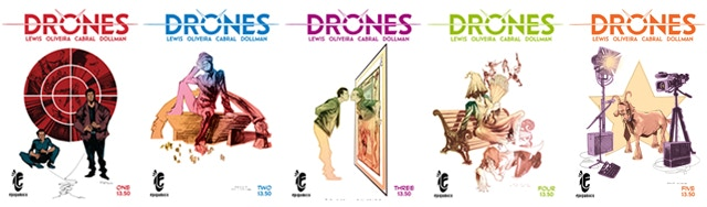 Covers for issues 1-5