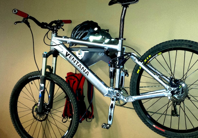 Not only storage for your bike, but all your gear.