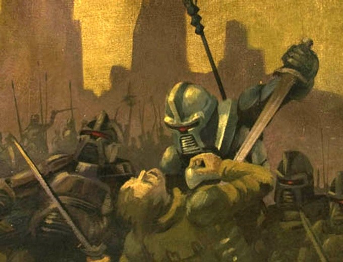 """The Cylon War"" detail"