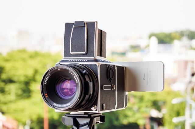 Hasselnuts: Hasselblad Camera + iPhone DigitalBack Kit! by Badass