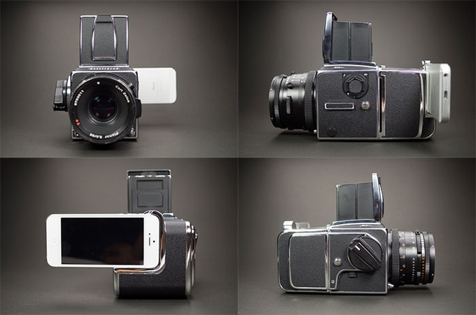 Badass Camera Series, HASSELNUTS HN-10 (Hasselblad Camera and Lens Not Included)