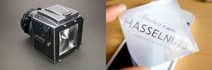HASSELNUTS Magnifying Lens