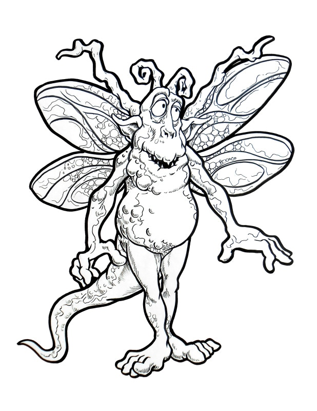 Gilead's Goblinz Coloring Book by Gilead Artist — Kickstarter