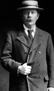 Arthur Conan Doyle - what message did his spirit guide pass on to him while he stood at the edge of Cottingley beck?