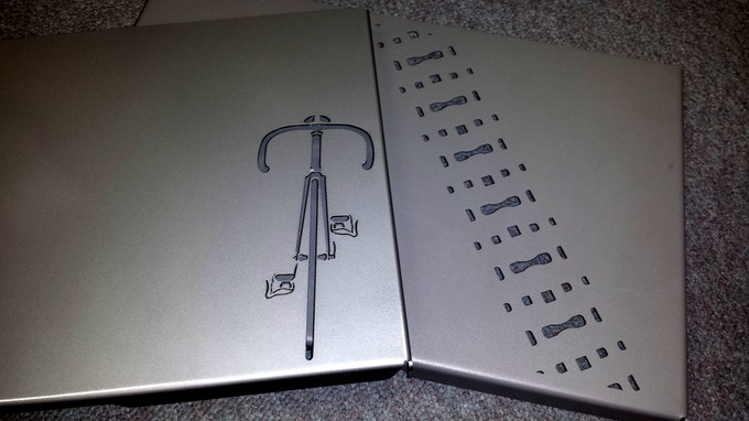 All Bike Dock backers now have a choice for their very own lasercut cover theme!....Mountain or Road.