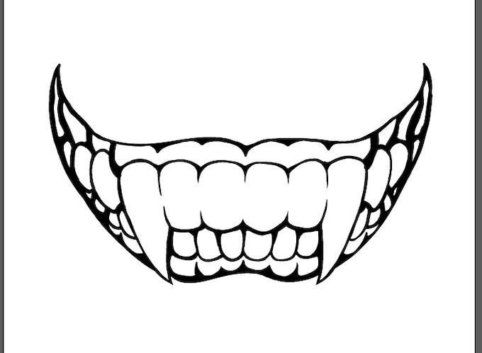 Monster Mouth Halloween T Shirt Project By Wyatt Garland Kickstarter